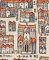 Plan de Paris vers 1550 eglise St-Merri.jpg