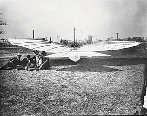 1901 in aviation - Whiteheads plane.