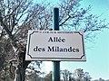 Plaque Allée Milandes St Cyr Menthon 2011-11-23.jpg