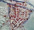 Plattegrond Valkenburg Jacob van Deventer, 16e eeuw.jpg