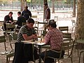 Playing chess, Jardin du Luxembourg, August 24, 2011.jpg