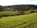 Plump Hill, Mitcheldean. Looking towards Plump Hill from Abenhall.
