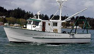 Oregon Institute of Marine Biology - R/V Pluteus