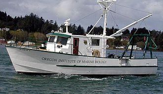 Oregon Institute of Marine Biology - R/V Pluteus