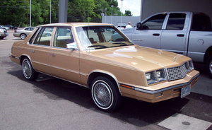 Plymouth Caravelle - Image: Plymouth Caravelle, 83 85