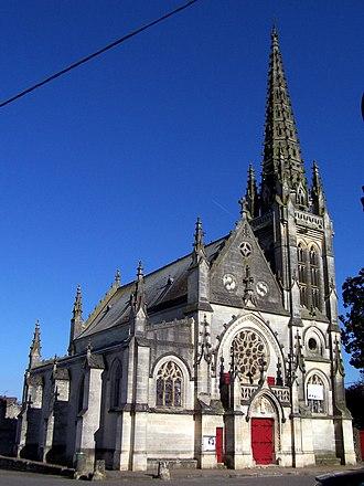 Podensac - Image: Podensac Église Saint Vincent 01