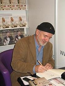 Polish writer Marek Bieńczyk at Book Fair in Kraków by Maire.JPG