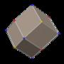 Polyhedron small rhombi 4-4 dual