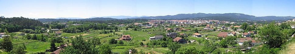Ponteareas - panoramica (Pontevedra)