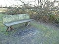 Poole , Bench at Hatch Pond Local Nature Reserve - geograph.org.uk - 1766966.jpg