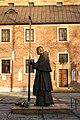 Pope John Paul II monument, Cistercian abbey, Klasztorna street, Mogila,Krakow,Poland.jpg