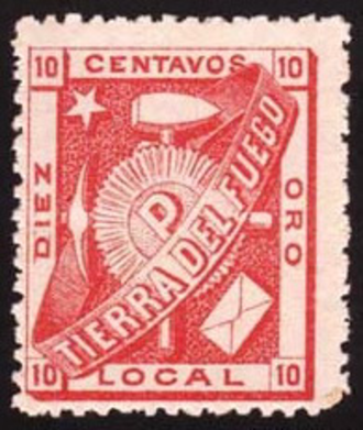 Julius Popper - 1891 stamp by Popper