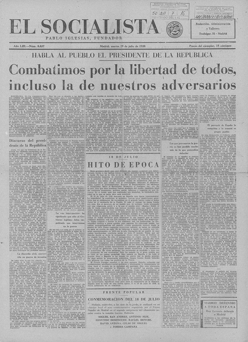 Portada el socialista 1938 julio 18 8837 1.jpg