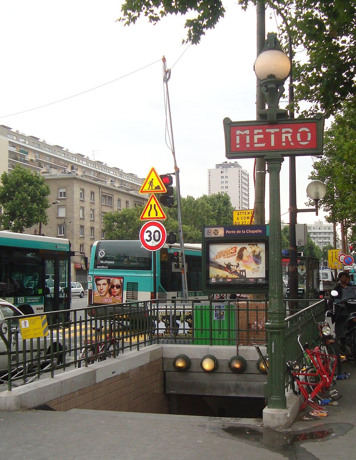 بورت دو لاشابال مترو باريس ويكيبيديا الموسوعة الحرة