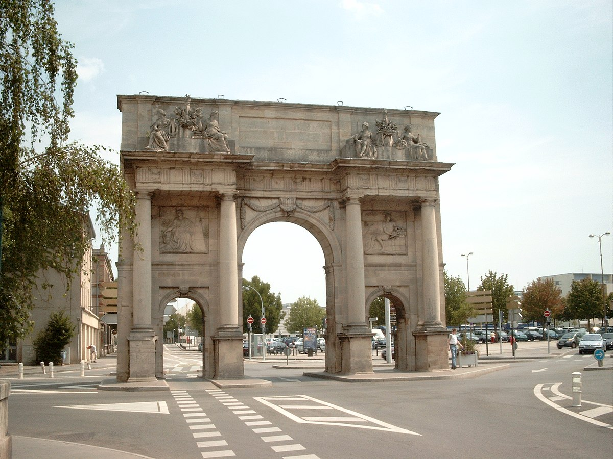 Porte sainte catherine wikip dia for Rue catherine opalinska nancy