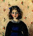 Portrait de Jeanne Pissarro dite Minette (Camille Pissarro), 1872.jpg