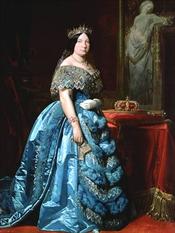 Isabella II (painting by Federico de Madrazo y Kuntz)
