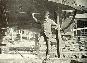 Lewis Nixon (naval architect) - Lewis Nixon at Crescent Shipyard