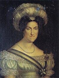 Portrait of Maria Cristina of Naples, queen of Sardinia (1779-1849) circa 1828-1831.jpg