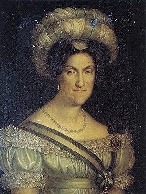 Charles Felix of Sardinia - Maria Cristina of Naples, wife of Charles Felix and queen of Sardinia