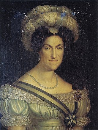 Charles Felix of Sardinia - Maria Cristina of Naples, wife of Charles Felix and queen of Sardinia