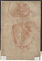 Portrait of a Man (recto); A Male Torso in Jacket and the Head of a Child (verso) MET DP103057.jpg