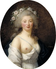 Portrait of a Young Lady as Flora