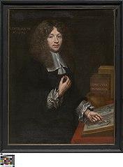 Portret van Nicolaas van den Heede