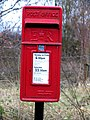 Post box number LE15 21 Burley Toll Bar - geograph.org.uk - 1134708.jpg