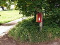 Postbox, Haccombe - geograph.org.uk - 1480863.jpg