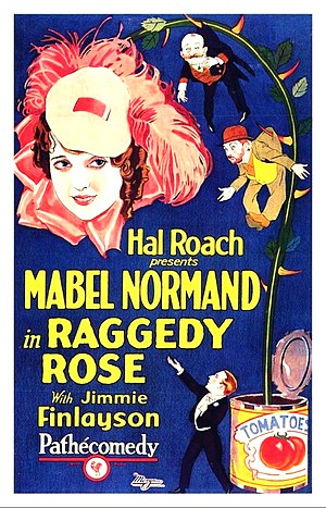 Raggedy Rose - Theatrical release poster