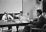 Postflight discussion of S-13 experiment (S66-45615).jpg