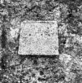 Povir 68 pri Divači, staro župnišče, plošča z napisom MK MG 1581 1969.jpg
