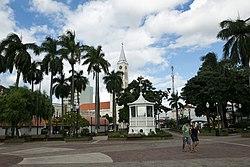Praça Dr. Gama, marco central da cidade