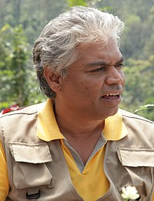 Prakash Belwadi During Ishtakamya Shoot.JPG