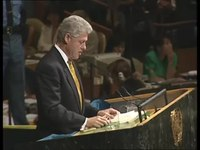 File:President Clinton At 53rd UN General Assembly (1998).webm