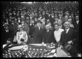 President Coolidge at baseball game; Front row, left to right- Andrew W. Mellon, Grace Coolidge, President Coolidge, Frank Kellogg; John G. Sargent, 2nd row, right LCCN2016887733.jpg