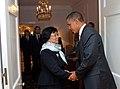 President Obama Greets Kyrgyzstan President Otunbayeva (5029828442).jpg