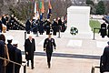 President of Italy lays a wreath at the Tomb of the Unknown Soldier in Arlington National Cemetery (24252624483).jpg