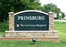 Prinsburg, Minnesota - Lord Is My Shepherd Sign.JPG
