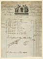 Print-drawing, Wallpaper Invoice for the firm of Arthur et Robert, 1793 (CH 18613091).jpg