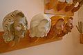 Procés de fabricació d'una falla, cap femení, Museu Faller de València.JPG