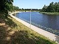 Promenade by Jugla river in Jugla, Riga.jpg