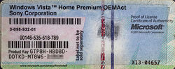 Proof of License Certificate of Authenticity for Windows Vista Home Premium OEM.jpg