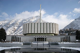 Emil B. Fetzer - Image: Provo Utah Temple 4