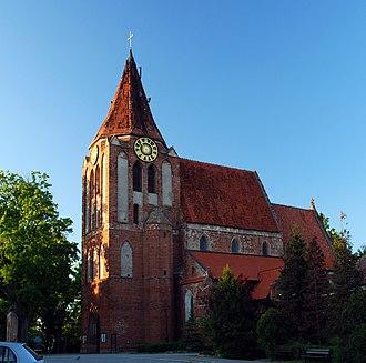 Pruszcz Gdański - Exaltations of the Cross Church