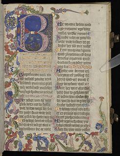 Sankt Florian Psalter manuscript