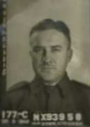 Robert Askin - Photograph of Private Askin on his enlistment in March 1942.