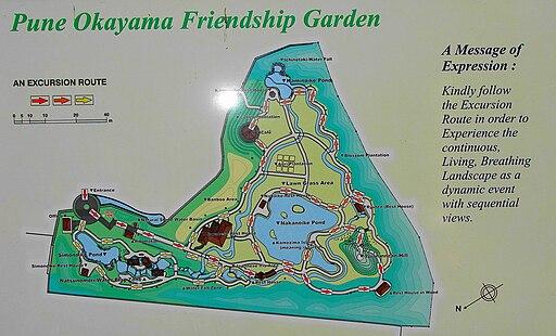 Pu La Deshpande garden Map