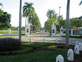 Puerto Rico National Cemetery U.S. military cemetery in Bayamón, Puerto Rico